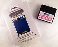 Berzerk Debugged for Vectrex box and cart 1
