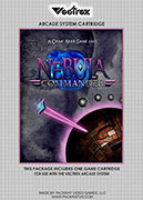 Nebula Commmander for the Vectrex