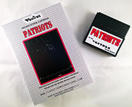 Patriots for Vectrex Box and Cart 1