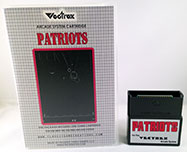 Patriots for Vectrex Box and Cart 2