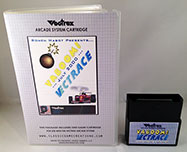 Vectrace Vaboom for the Vectrex box and cart 2