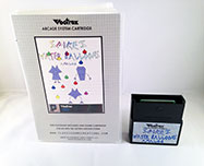 Spikes Water Balloons Analog for the Vectrex box and cart 2