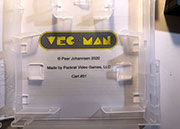 Vec-Man numbered box