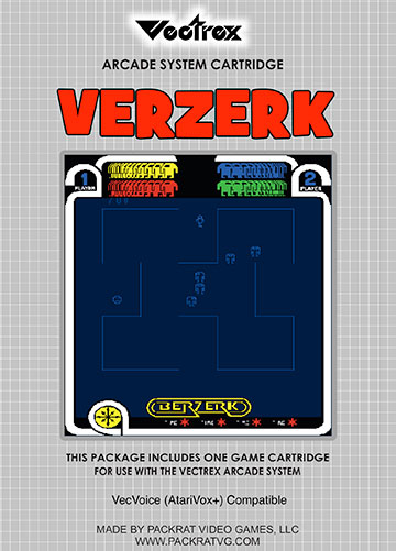 Verzerk for Vectrex